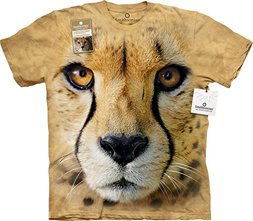 Big Face Cheetah Kids T-Shirt-XL