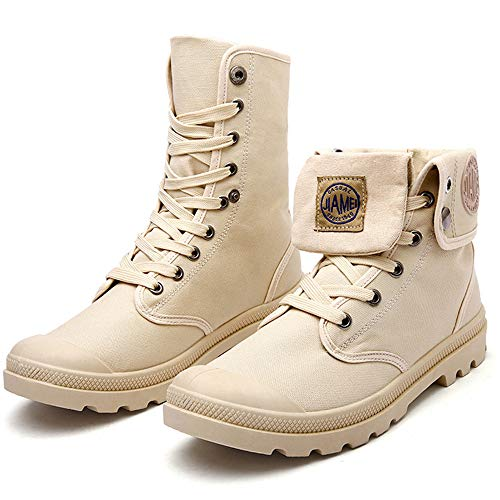 Mens Delphine Arcadia Ankle Boot Western Boots Motorcycle Boots(Sandy Lable 44/10 D(M) US Men) ()