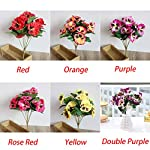 Cicony-Artificial-Flowers-Table-Simulation-Plant-Fake-Home-Decor-Desk-Wedding-Party-Office-Bouquet-Pansy-Hotel-OrnamentOrange