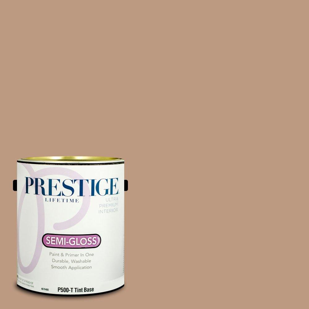 Prestige Paints P500-T-3001-7CVP Paint and Primer In One, Churchill Hotel Bronze, 1 gallon