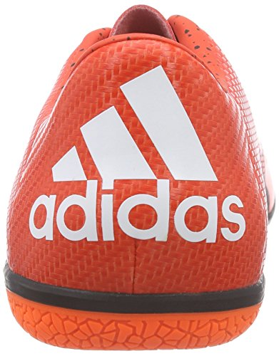 Chaos Naranja Botas fútbol Negro Blanco Hombre de Low Indoor adidas para Rojo ZdwqgxaRqO