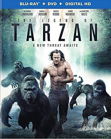 The Legend of Tarzan (Blu-ray + DVD + Digital HD UltraViolet Combo Pack) (Left Behind On Blu Ray)