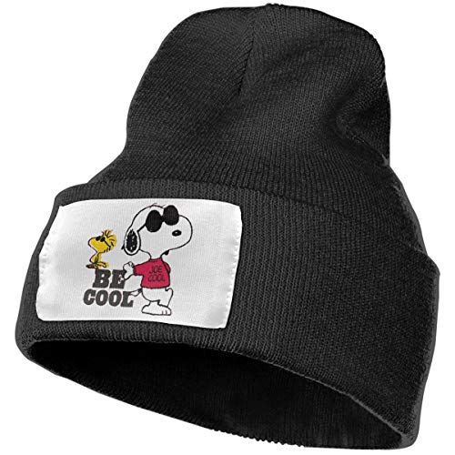 Artistic Dream Funny Cartoon Dog Snoopy Daily Beanie Hat Outdoor Skull Cap Warm Hat Knitted Beanies ()