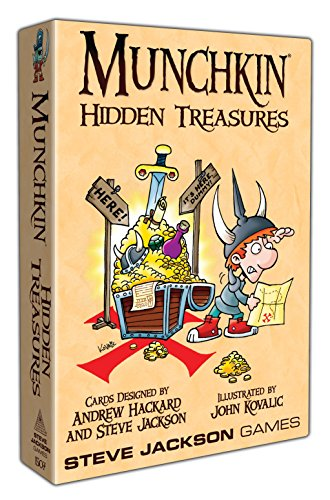 Steve Jackson Games Munchkin Hidden Treasures Card Game