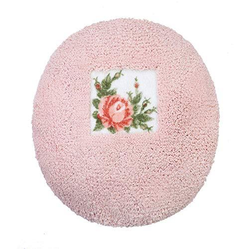 (JSJ_CHENG Pink Lid Cover Rose Floral)