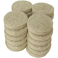 Shepherd Hardware 9976 1-1/2-Inch Heavy Duty Adhesive Felt Furniture Pads, 24-Count by Shepherd Hardware