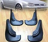 4PCS Mud Flaps Splash Guard Mudguard Fit For 1998 1999 2000 2001 2002 2003 2004 2005 VW GOLF MK4 JETTA A4 BORA