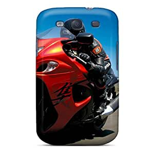 New Fashionable Carolcase168 YmR4807bldo Covers Cases Specially Made For Galaxy S3(2008 Suzuki Hayabusa)