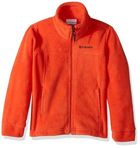 (Columbia Youth Boys' Steens Mt II Fleece Jacket, Soft Fleece with Classic Fit)