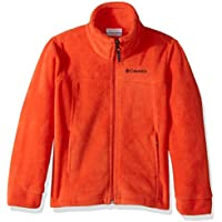 Columbia Boys' Steens MT II Fleece Jacket (State Orange)