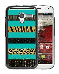 Unique Designed Kate Spade Cover Case For Motorola Moto X Black Phone Case 76