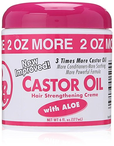- Bronner Brothers Castor Oil Hair and Scalp Treatment, 6 Ounce