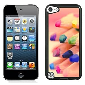 New Personalized Custom Designed For iPod Touch 5th Phone Case For Colored Pencil Tips Phone Case Cover