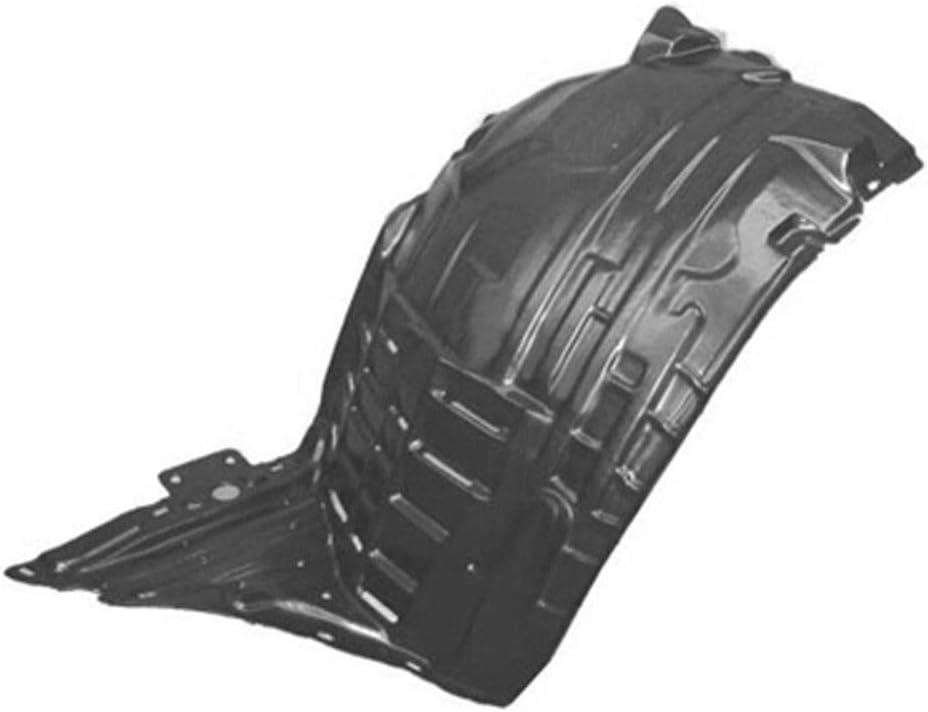 KA Depot for 350Z 2006-2008 TBTN222148 NI1250133 Front Driver Left Side Fender Liner Inner Panel Plastic Guard Shield