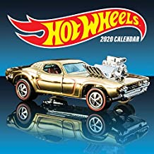Hot Wheels 2020 Wall Calendar