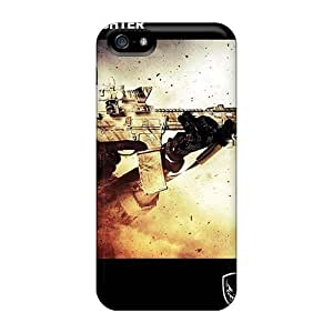 High Quality Shock Absorbing Case For Iphone 5/5s-medal Of Honor Warfighter Military Edition
