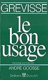 Le Bon Usage (13 ème édition)