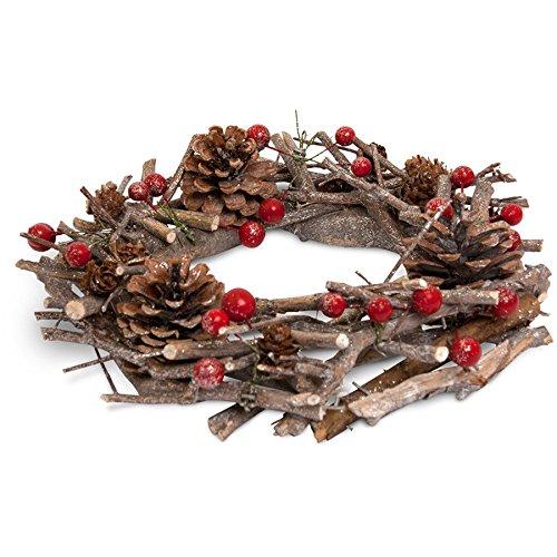 Heart & Home Corona di Natale Winter bacche, 200G 1010777910