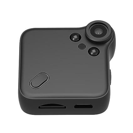 haodene cámara espía 1080p HD mini camera wifi cámara de vigilancia inalámbrico (con infrarrojos de