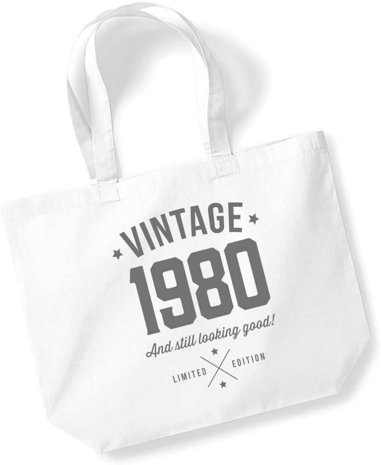42nd Birthday Gifts Present Year 1977 Shopping Shopper Keepsake Womens Tote Bag