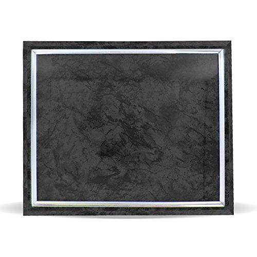 Certificate Plaque Board with Silver Raised Border Slide in Plexi Glass, ()