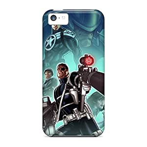Cases Covers Compatible For Iphone 5c/ Hot Cases/ Nick Fury I4
