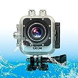 SUNSKY SJCAM M10 Plus Novatek 96660 Ultra HD 2K 1.5 inch LCD Screen Sports Action Camera with Waterproof Case, 170 Degrees Wide Angle Lens, 30m Waterproof ( Color : White )