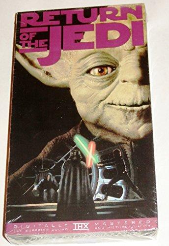 STAR WARS saga RETURN OF THE JEDI, The Empire Falls, Digitally Mastered, VHS Video
