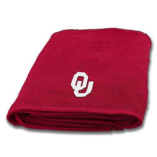 Northwest COL 929 Oklahoma Sooners NCAA Applique Bath Towel (Sooners Oklahoma Ncaa Applique)