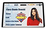 Doctor Who Clara Oswin Oswald Tardis Badge