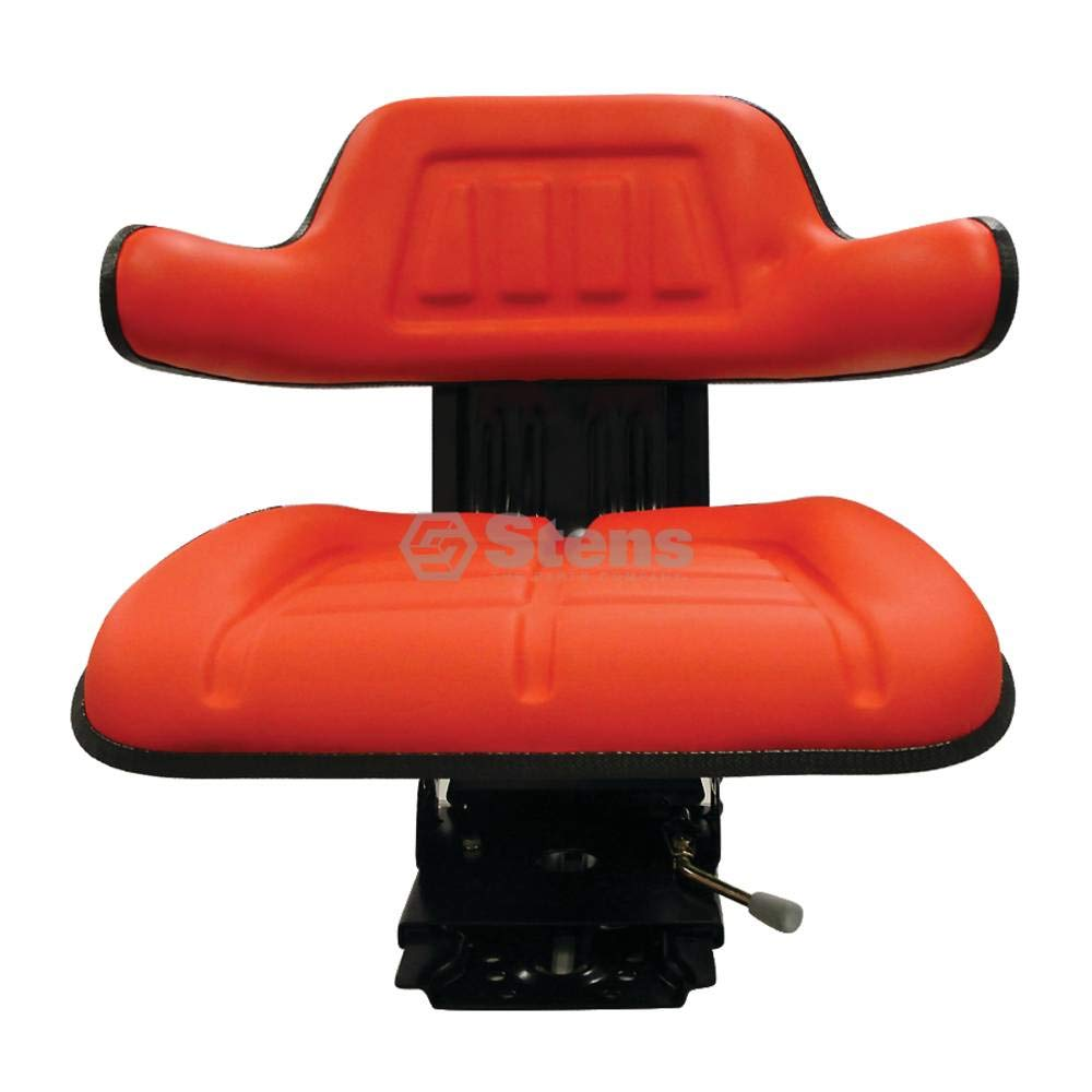 Stens Seat for Economy suspension, red, adjustable