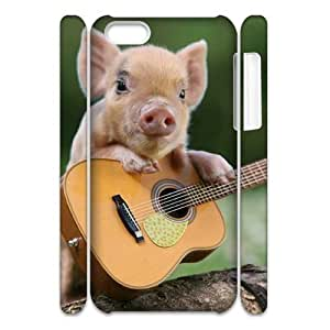 ALICASE Diy 3D Protection Hard Case Pig For Iphone 5C [Pattern-1]