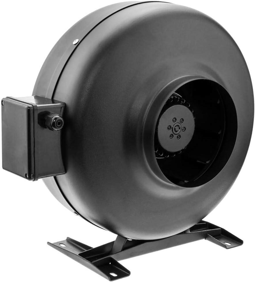 PrimeMatik - Ventilador de Tubo de 150 mm. Extractor de conducto en línea para la ventilación Industrial