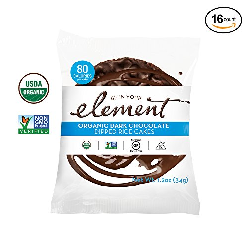 Element Snacks Organic Dark Chocolate Cakes - (Chocolate Organic Cake)