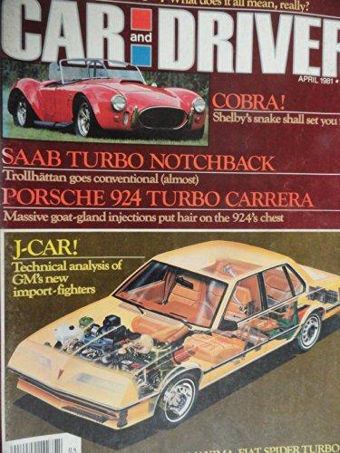 (1981 Saab 900 Turbo / Cadillac Sedan DeVille / Datsun Maxima Road Test)