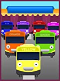 Colorful Buses for Children to Learn Colors
