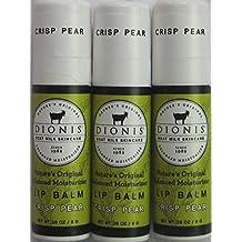 Dionis Lip Balm - Crisp Pear - 0.28 Oz Tube - in a Gift Bag by Dionis