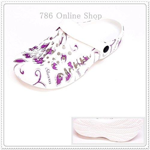 Sabots Chaussons Chaussures Femme Sandales 112b Violet Multicolore Talons Mules Nouveau À d5pqp