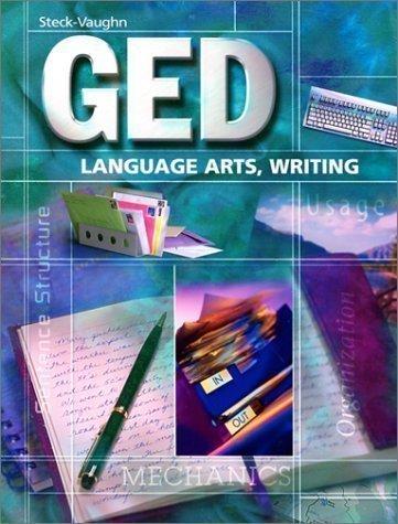 Steck-Vaughn Ged: Language Arts, Writing (Steck-Vaughn Ged Series) [Paperback] by STECK-VAUGHN
