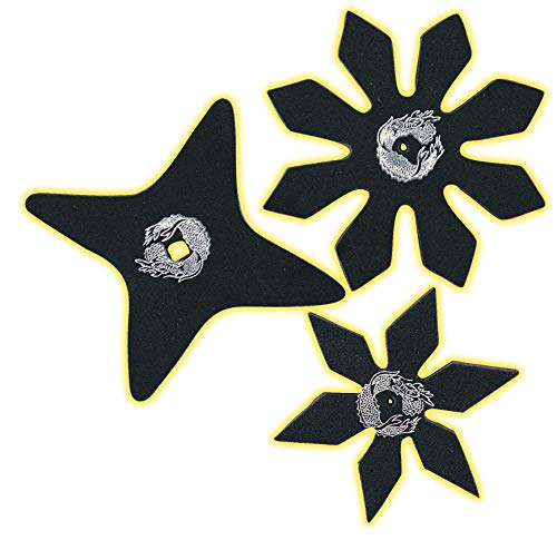 Rubie's Brotherhood of the Dragon Rubber Ninja Stars Costume Accessory Set of - One Size]()