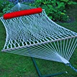 Algoma 2 - Person Cotton Rope Hammock with Pillow by ALGOMA
