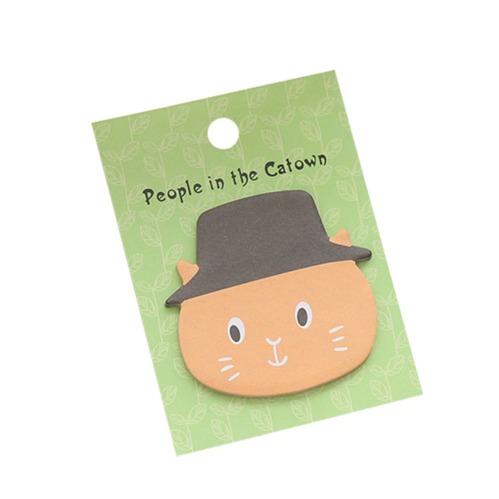 Yonger Sticky Note Memo Reminder Sticker Office Green Angora Message Note Pad