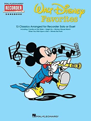 (Walt Disney Favorites: Hal Leonard Recorder Songbook)