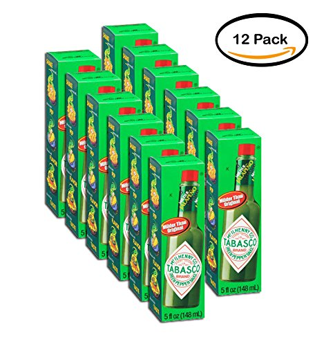 PACK OF 12 - Tabasco Green Pepper Sauce, 5 fl oz