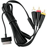 TV Video AV Cable for Samsung Galaxy Tab Note 10.1 P1000 N8000