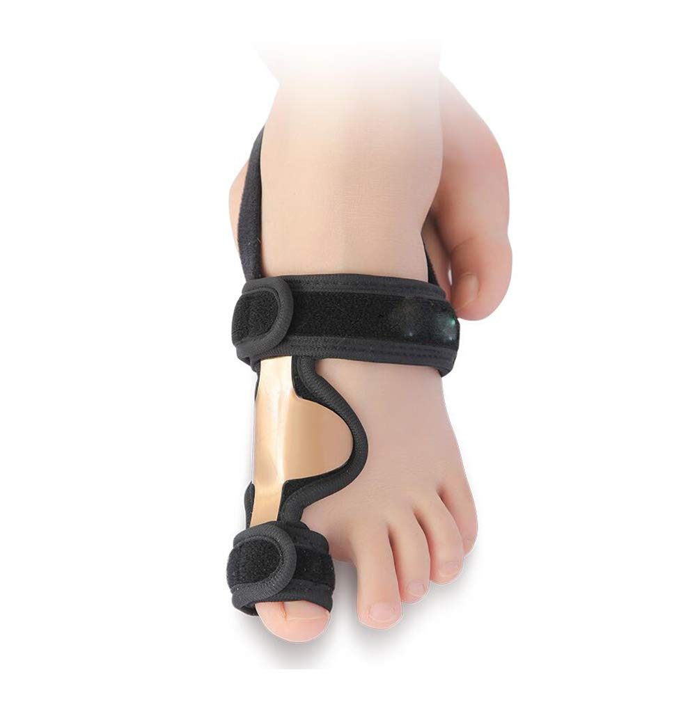 Thumb Valgus Orthosis, Large Foot Bone Valgus Correction With Toe Separator Big Foot Bone Overlap Separation,Right ZZF