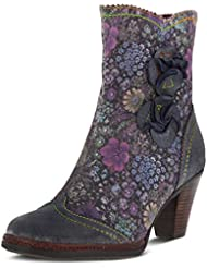 L`Artiste Womens Simonetta Blue Multi Boot - 41