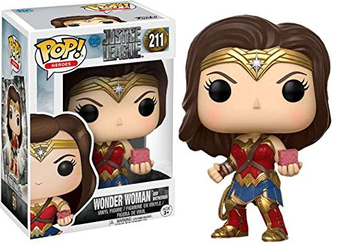 Funko Pop! DC Heroes Justice League Wonder Woman #211 (Motherbox)
