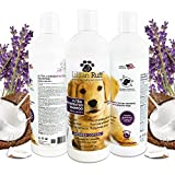 Lillian Ruff Professional Dog Shampoo - Concentrated Dog Shampoo with Aloe - Safe for Cats - Tear Free Lavender Coconut Scent - Soothe & Cleanse Normal to Dry Itchy Sensitive Skin - Made in USA