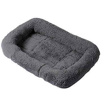 GDRAVEN Cama de cachemira suave para mascotas, fácil de limpiar, lavable, rectangular, acolchada y reforzada: Amazon.es: Productos para mascotas